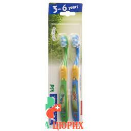 Trisa детская зубная щётка Kid Duo 2 штуки