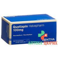 Кветиапин Хелвефарм 100 мг 100 таблеток покрытых оболочкой