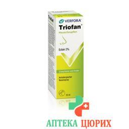 Триофан противоаллергический назальный спрей от аллергического ринита 20 мл