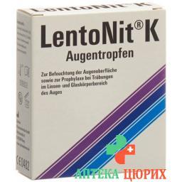 LENTONIT K AUGENTROPFEN OPHT