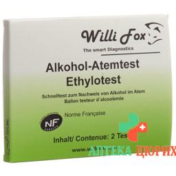 WILLI FOX ALKOHOLTESTER