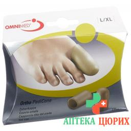 Omnimed Ortho PediCone Zehenkappe размер L/XL 2 штуки