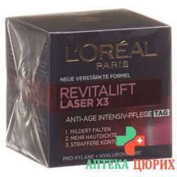 L'Oreal Revitalift Laser x3 Tiefenwirksame Anti-Age Pflege Tag 50мл