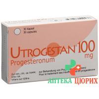 Утрожестан 100 мг 30 капсул