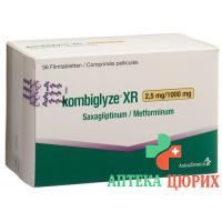 Комбоглиз XR 2,5 мг / 1000 мг 196 таблеток покрытых оболочкой