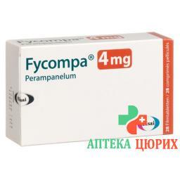 Файкомпа 4 мг 28 таблеток покрытых оболочкой