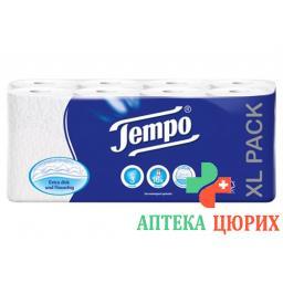 Tempo Toipa Toilettenpapier 3 Lag Weis 150b 16 штук