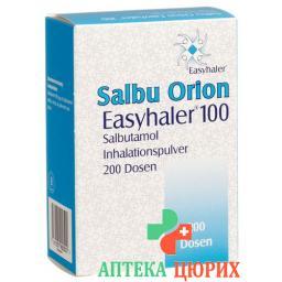 Сальбу Орион Изихалер 100 порошок для ингаляций 0.1 мг 200 доз