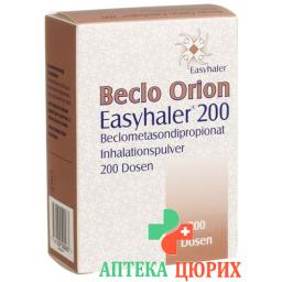 Бекло Орион Изихейлер порошок для ингаляций 0,2 мг 200 доз