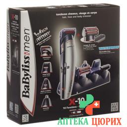 BABYLISS TRIMMER X10 HAIR FACE