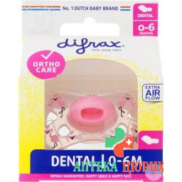 Difrax Nuggi Dental 0-6m Silikon