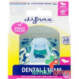 Difrax Nuggi Dental 18+m Silikon