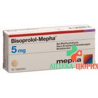 Бисопролол Мефа 5 мг 100 таблеток