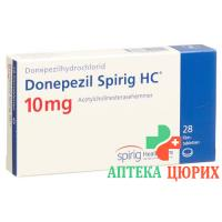 Донепезил Спириг 10 мг 28таблеток покрытых оболочкой