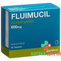 Флуимуцил 600 мг 30 таблеток