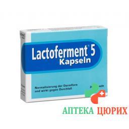 Лактофермент 20 капсул