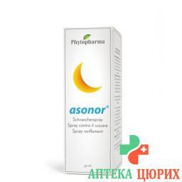 Phytopharma Asonor Schnarcherspray 30мл