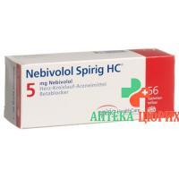 Небиволол Спириг 5 мг 56таблеток