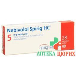 Небиволол Спириг 5 мг 28 таблеток