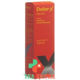 Долор-Икс 100 млсогревающий гель