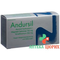 Андурзил 100 жевательных таблеток
