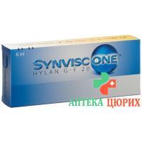 Synvisc One раствор для инъекций в ампулах 6мл