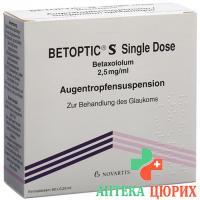 Бетоптик С 60 х 0.25 мл глазные капли