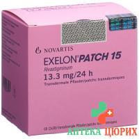 Экселон Патч 15 (13,3 мг/сутки) 60 трансдермальных матричных пластырей