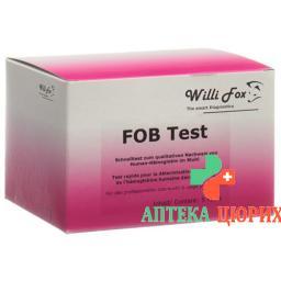 WILLI FOX FOB TEST