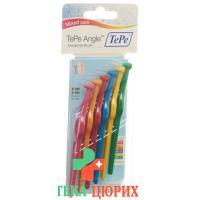 TePe Angle Interdentalbursten Mixed Pack 6 штук