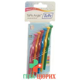 TePe Angle Interdentalbursten Mixed Pack 6 штук