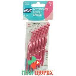 TePe Angle Interdentalbursten 0.4мм 6 штук