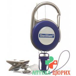 Стерилиум  Клип  зажим-фиксатор на одежду для переноски   небольших  флакончиков 1 шт