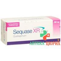 Секваз XR 200 мг 60 ретард таблеток