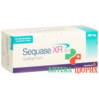 Секваз XR 300 мг 100 ретард таблеток