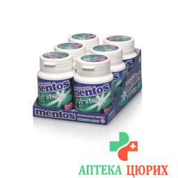 MENTOS GUM WHITE BREEZE MINT