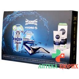 Wilkinson Hydro 5 +nivea Geschenkset