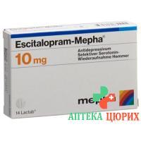 Эсциталопрам Мефа 10 мг 28таблеток покрытых оболочкой