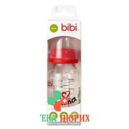 Bibi Sh-Flasche Glas Dens 120мл Mapa Ass