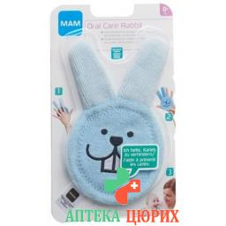 MAM Oral Care Rabbit 0+ Monate
