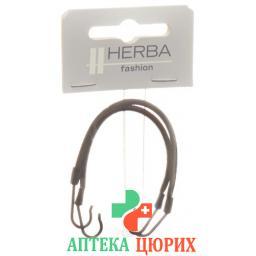 Herba Hackengummi 9.2см Schwarz 2 штуки