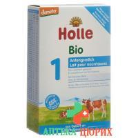 Холле органическая молочная смесь с момента рождения 400 грамм