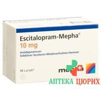 Эсциталопрам Мефа 10 мг 98таблеток покрытых оболочкой