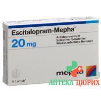 Эсциталопрам Мефа 20 мг 98таблеток покрытых оболочкой