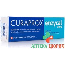 Curaprox Enzycal Zero зубная паста 75мл