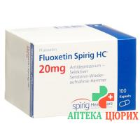 Флуоксетин Спириг 20 мг 100 капсул