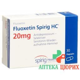 Флуоксетин Спириг 20 мг 30 капсул