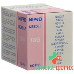 NIPRO 1XKA 1.2X40MM18GX1/1/2RO