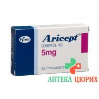 Арисепт 5 мг 28 таблеток