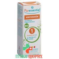 Puressentiel Wintergrunoel эфирное масло Bio 10мл